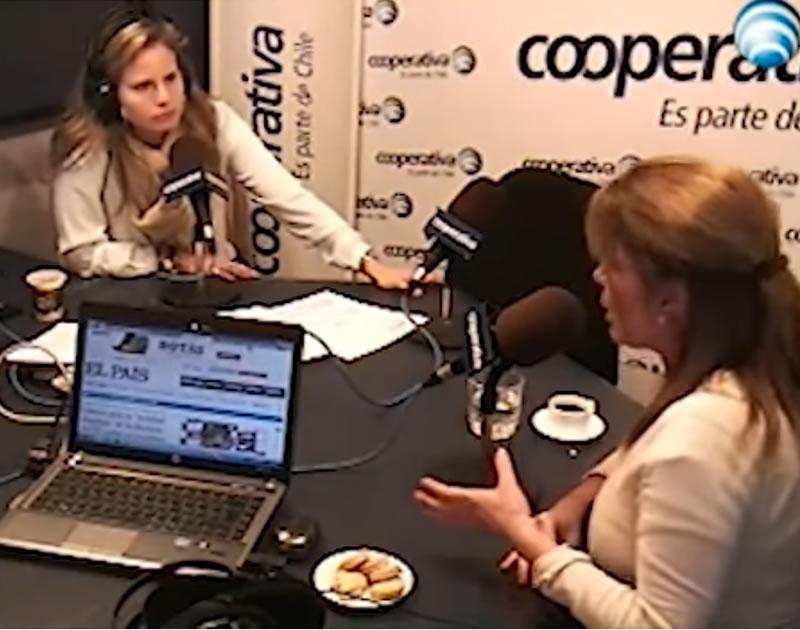 Entrevista a Patricia Stocker en Radio Cooperativa con Soledad Onetto