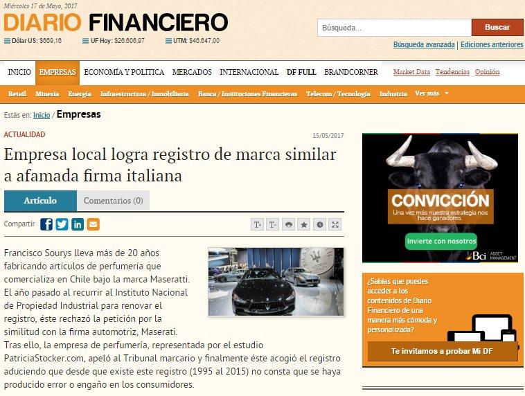 Protección de Marcas – Patricia Stocker® logra renovación de marca similar a firma italiana
